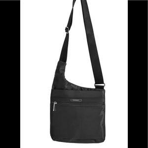 Hedren crossbody travel nylon adjustable purse